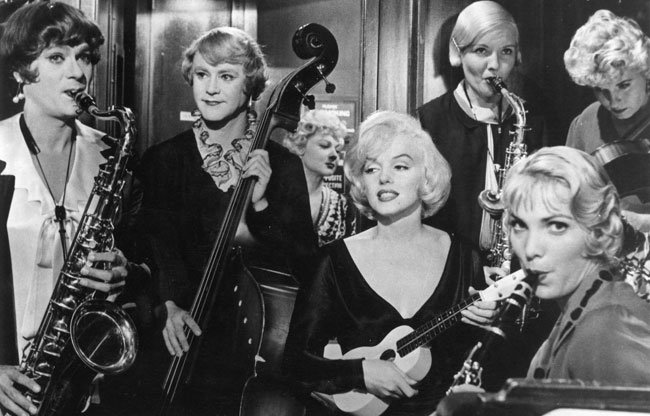 «Вджазе только девушки» признана лучшей комедией вистории