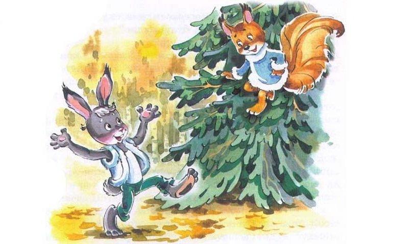 Картинки для детей зайчики и белочки, картинки праздником марта